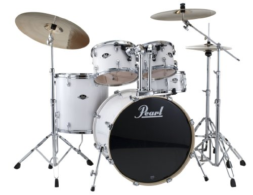 - Export 5 Piece Standard Drum Set with Hardware (Cymbals Not Included)