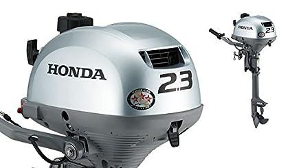 amazon com honda marine bf2 3 2 3 hp engine 15 shaft gas powered rh amazon com 7.5 Honda 4 Stroke Outboard Honda 4 Stroke Outboard