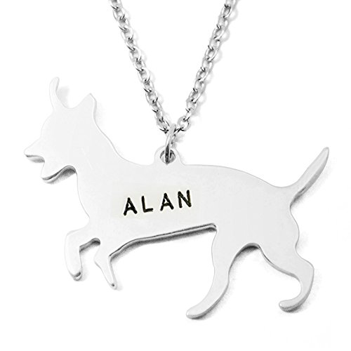Necklace Russell Jack (Custom Jack Russell Terrier Necklace, Personalized Jack Russell Terrier Pendant Necklace Dog Lover Gift)
