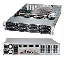 Supermicro SuperChassis 1280W 2U Rackmount Server CSE-826BE26-R1K28LPB Black