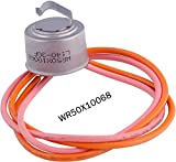 WR51X10055 Refrigerator Defrost Heater Replacements WR55X10025 Refrigerator Temperature Sensor WR50X10068 Defrost Thermostat Compatible with general Electric Hotpoint Refrigerators Replaces WR51X10030