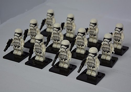 501 Star Wars Costumes (12 pcs StormTrooper minifigures building toy in bags)