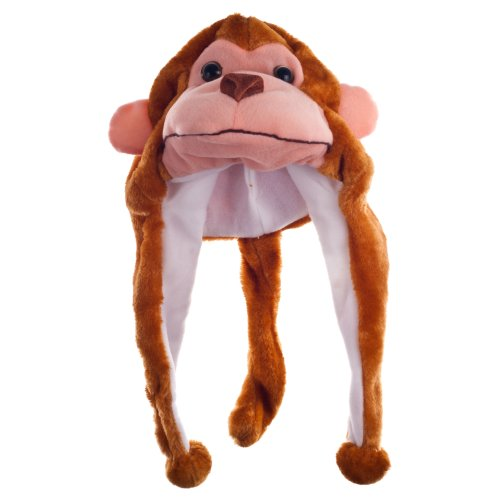 Price comparison product image Critter Cap Plush Monkey Hat