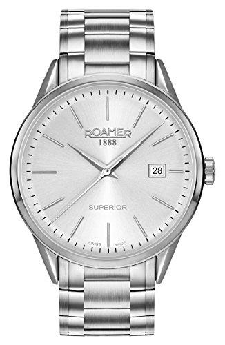 Roamer Mens Watch Superior 3H Gents 508833 41 15 50