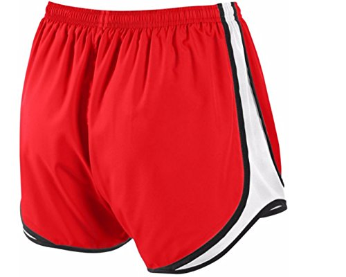 Women's Blk NIKE White Red Short Tempo TxxwdnHq