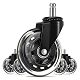 UVII Office Chair Caster Wheels(Set of