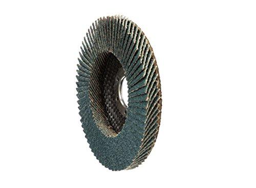 United Abrasives- SAIT 78029 Ovation Flap Disc, 5-Inch by 7/8-Inch, 80 Grit, 10-Pack by United Abrasives- SAIT (Image #2)
