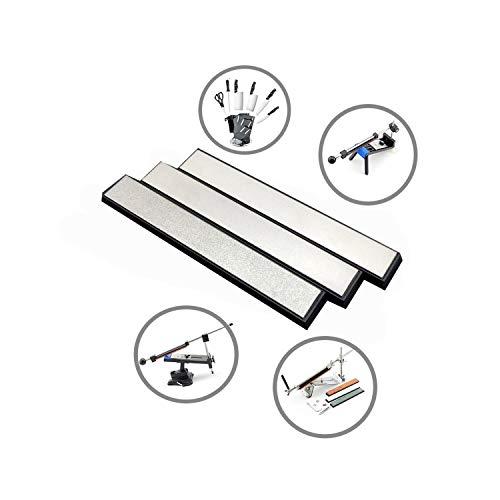 3Pcs Knife Sharpener Edge Diamond Whetstone Sharpening Stones For Ruixin Sharpener System,120 400 600