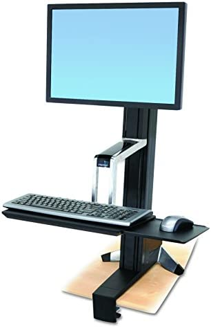 WorkFit S Single HD Sit Stand Workstation