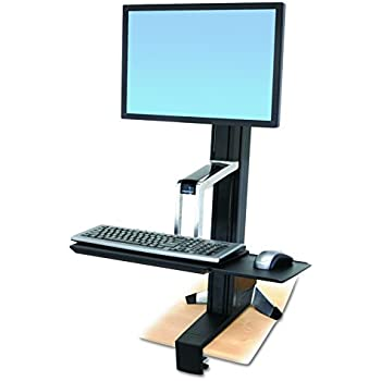 Amazon Com Workfit S Single Hd Sit Stand Workstation