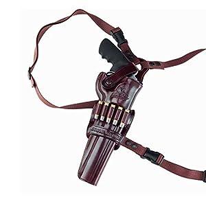 Galco Kodiak Shoulder Holster (Dark Havana Brown), 8-3/8-Inch S&W N Frame .44 Model 29/629, Right Hand