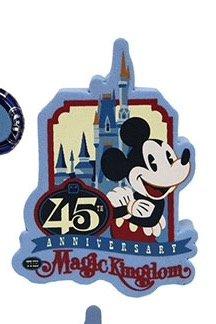 Walt Disney World Magic Kingdom 45th Anniversary Antenna Topper