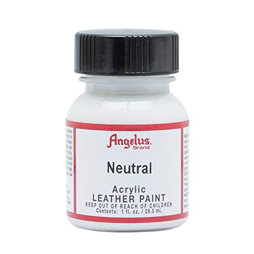 Springfield Leather Company's Neutral Acrylic Leather Paint by Angelus 004 Neutrel 1 Ounce