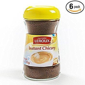 Leroux Regular Instant Chicory 3.5oz (Pack of 6)
