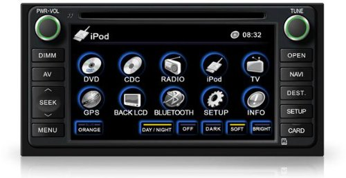 Amazon Oem Replacement Dvd 7\ Touchscreen Gps Navigation Unit Rhuedataamazon: 2007 Toyota 4runner Radio Installation At Gmaili.net