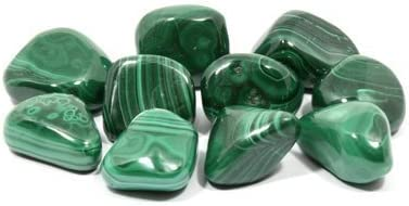 Malachite Tumble Stone Single Stone 20-25mm