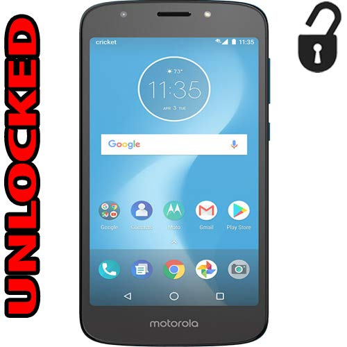 Motorola Moto E5 Cruise Unlocked 4G LTE (Cricket) Single Sim 16GB 2GB Ram 8MP XT1921-2 Android 8.0 Desbloqueado