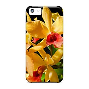New Diy Design Exquisite Orchids For Iphone 5c Cases Comfortable For Lovers And Friends For Christmas Gifts