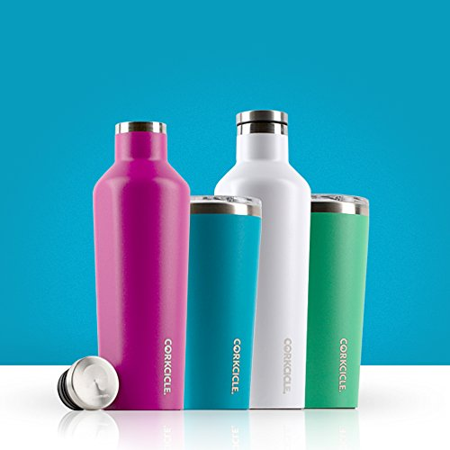 Corkcicle Tumbler Collection-Triple Insulated Stainless Steel Travel Mug, 16 oz, Waterman Black