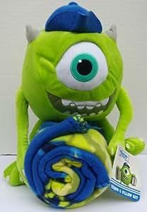 Disney Monster's University Mike Wazowski Hugger Throw & Pillow Set