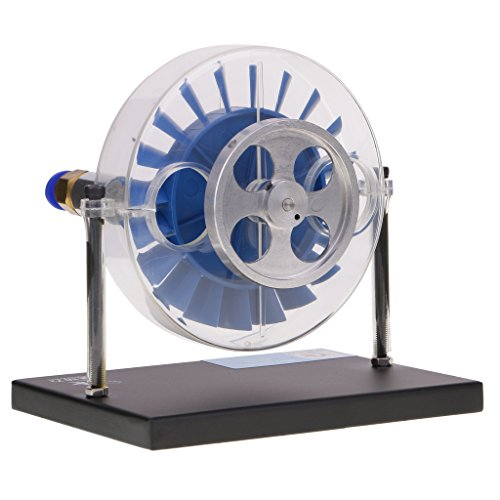 MagiDeal Single-stage Steam Turbine Model Laboratory Demonstration Equipment Toy Gift (Stage Turbine)