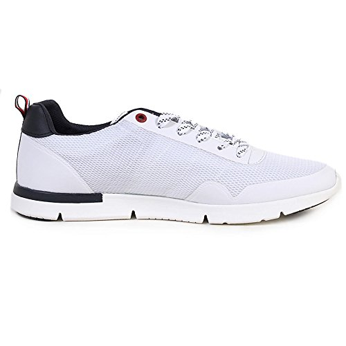 Tommy Hilfiger Mens White Tobias 20C Trainers