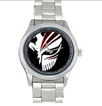 dude custom bleach men 39 s stainless steel watch sliver metal dude clothing. Black Bedroom Furniture Sets. Home Design Ideas