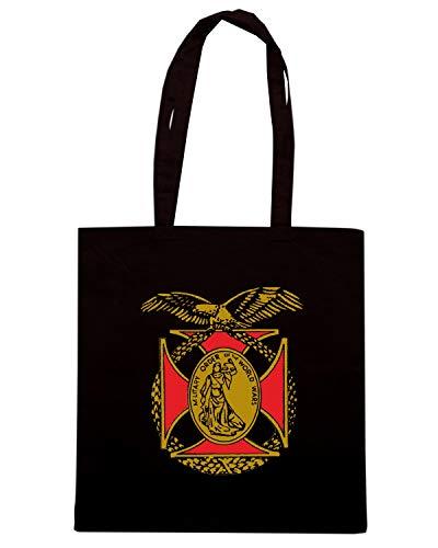 Shirt OF THE Borsa ORDER TM0429 MILITARY WORLD Shopper Nera Speed WAR dp0gwx7qd
