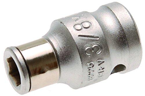 BGS Adapter mit Haltekugel, 10 (3/8), für 6,3 (1/4) Bits, 1 Stück, 8225