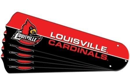 Ceiling Fan Designers 7992-LOU New NCAA LOUISVILLE CARDINALS
