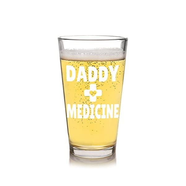 New Dad Baby Shower Beer Gift Daddy Medicine Funny Christmas