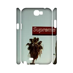 Hjqi - DIY supreme 3D Cell Phone Case, supreme Custom Case for Samsung Galaxy Note 2 N7100