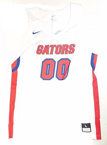 Florida Basketball Gators Nike (NIKE Men's Florida Gators Basketball Replica Jersey 867753 100 Size L)