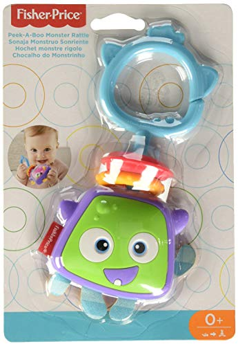 Fisher-Price Rattle Peek-A-Boo Monster