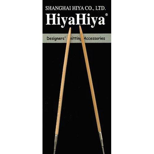 HiyaHiya Circular 24-inch (61cm) Bamboo Knitting Needle; Size US 13 (9mm) HIBCIR24-13
