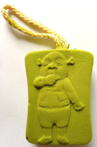 Dreamworks SHREK Bath & Shower Scrubbing and Exfoliating Sponge EXPANDS WHEN WET (FERGUS Baby ()