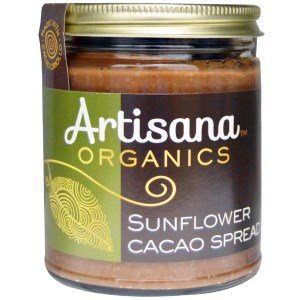 Artisana Organics – Sunflower Cacao Spread, Made With Cacao Criollo, Single Ingredient Handmade Rich  Thick Spread, USDA  QAI Organic Certified, Non…