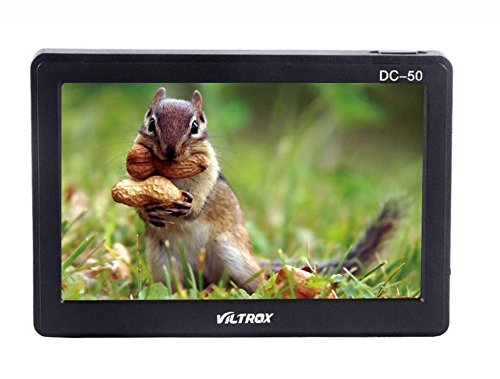 Viltrox DC-50 Clip-on Portable 5' LCD Monitor with HDMI Video Input with Standard