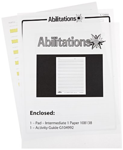 Abilitations Integrations Hi-Write – Intermediate 1 Paper – 100 Pack, 8-1/2 X 11 in – 089663