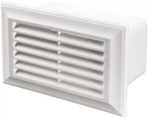 Fantronix Rejilla de ventilación para extractor de campana & Ventilador de Recuperación de Calor – Plano & Rectangular, 60x204mm: Amazon.es: Hogar