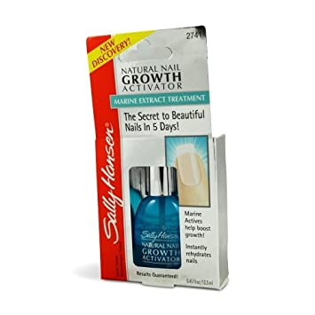 3 Pack) SALLY HANSEN Natural Nail Growth Activator - SH2741: Amazon ...