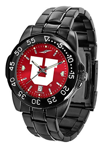 (Collegiate Fantom Sport Anochrome Premium Mens Watch with Gunmetal Band (Utah))