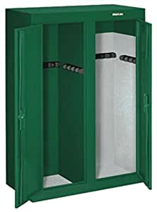Stack on gcdg 9216 16 gun convertible double for 10 gun double door steel security cabinet