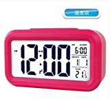 HOMEE Clock-large screen display creative personality bedside lcd alarm clock electronic clock,B