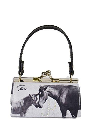 Preis am Stiel ® MiniBag Pferde s/w, Fohlenschutz