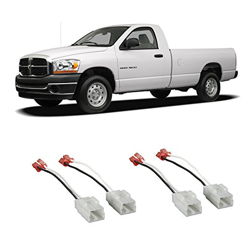 Fits Dodge Ram Truck 1500 2002-2008 Factory Speaker Replacement Connector Harness Kit