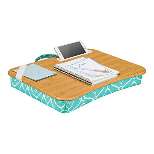 LapGear Designer Lap Desk - Aqua Trellis (Fits up to 15.6