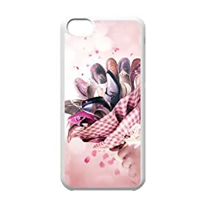 Valentine's day CHA9105171 Phone Back Case Customized Art Print Design Hard Shell Protection Iphone 5C