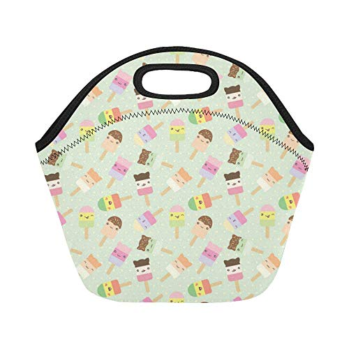 Ice Bag Bar Cream - InterestPrint Lunch Bags Ice Cream Bars Lunch Bag Lunch Box Lunch Tote For Adult Teens Men Women