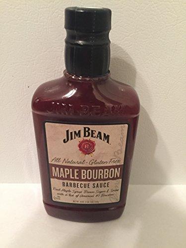 Jim Beam Maple Bourbon BBQ Sauce 18 oz. - Sauce Bourbon Barbecue
